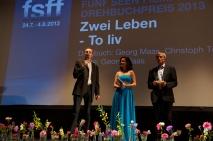 Preisverleihung 2013