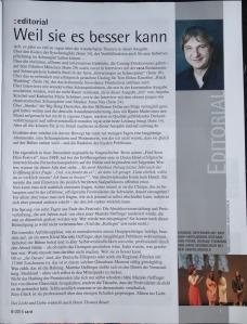 Cast Editorial