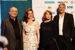 Mit Dr. Michael Verhoeve, Senta Berger und Matthias Helwig